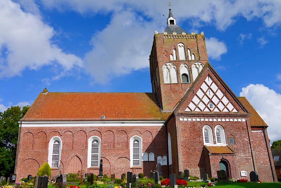 Warfendorf Pilsum - Sehr bekannte St Stephanus Kirche - Krummhörn - Ostfriesland