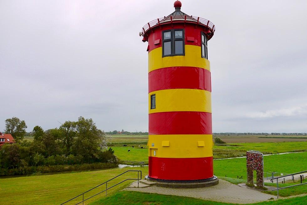 Pilsumer Leuchtturm & Schlosspark am Leuchtturm - Krummhörn - Ostfriesland