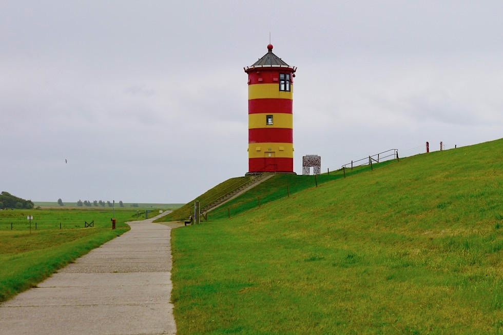 Pilsumer Leuchtturm: Das Wahrzeichen Krummhörn ist in ganz Deutschland & über die Grenzen hinweg bekannt - Ostfriesland