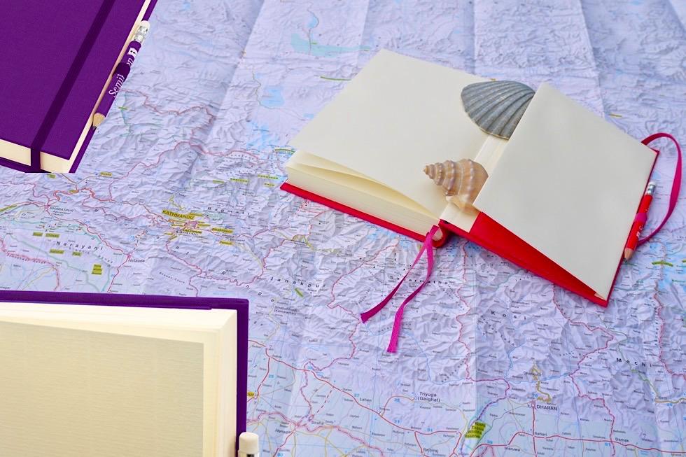 Reise-Tagebuch Grand Voyage von Semikolon: hervorragende Qualität & tolle Farben - Schönste Reisetagebücher & Erlebnis-Aufbewahrer - Passenger On Earth