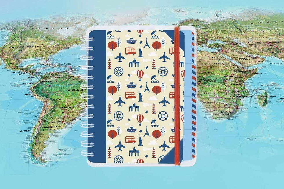 Reisetagebuch Moses Verlag - Schönste Reisetagebücher & Erlebnis-Aufbewahrer - Passenger On Earth