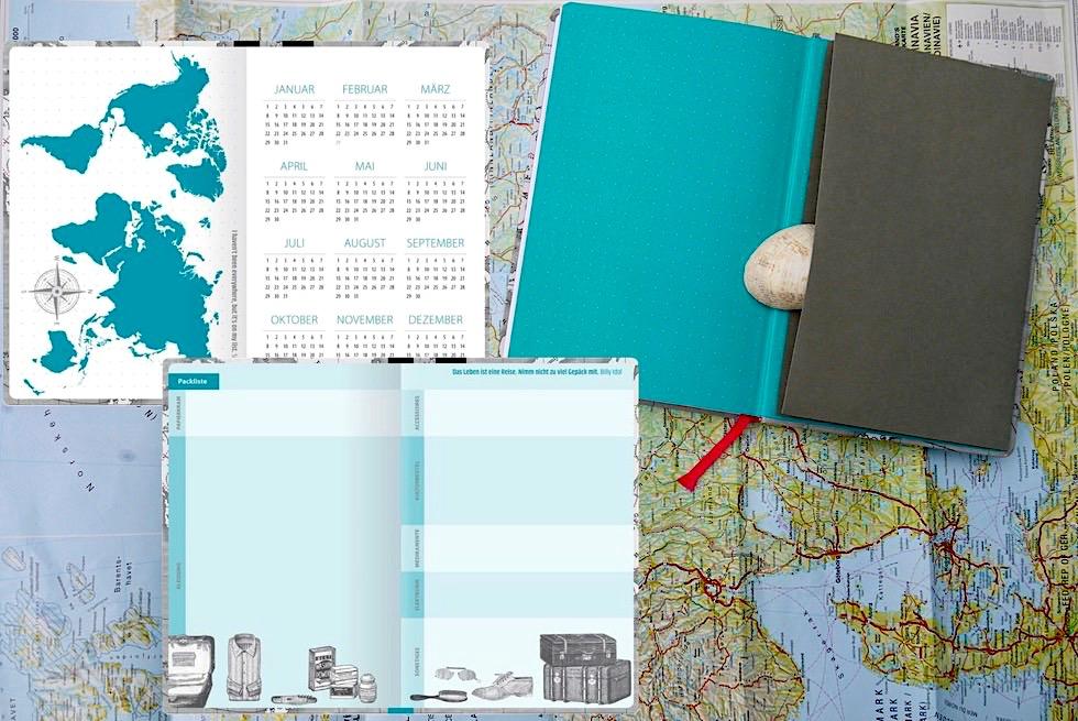 Reisetagebuch Reise Know-How: gelungener Mix aus Struktur & Freiraum - Schönste Reisetagebücher & Erlebnis-Aufbewahrer - Passenger On Earth