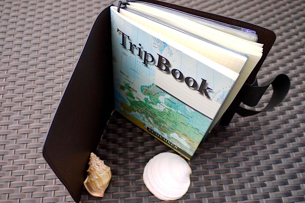 TripBook von Remember: Aufbau - Schönste Reisetagebücher & Erlebnis-Aufbewahrer - Passenger On Earth