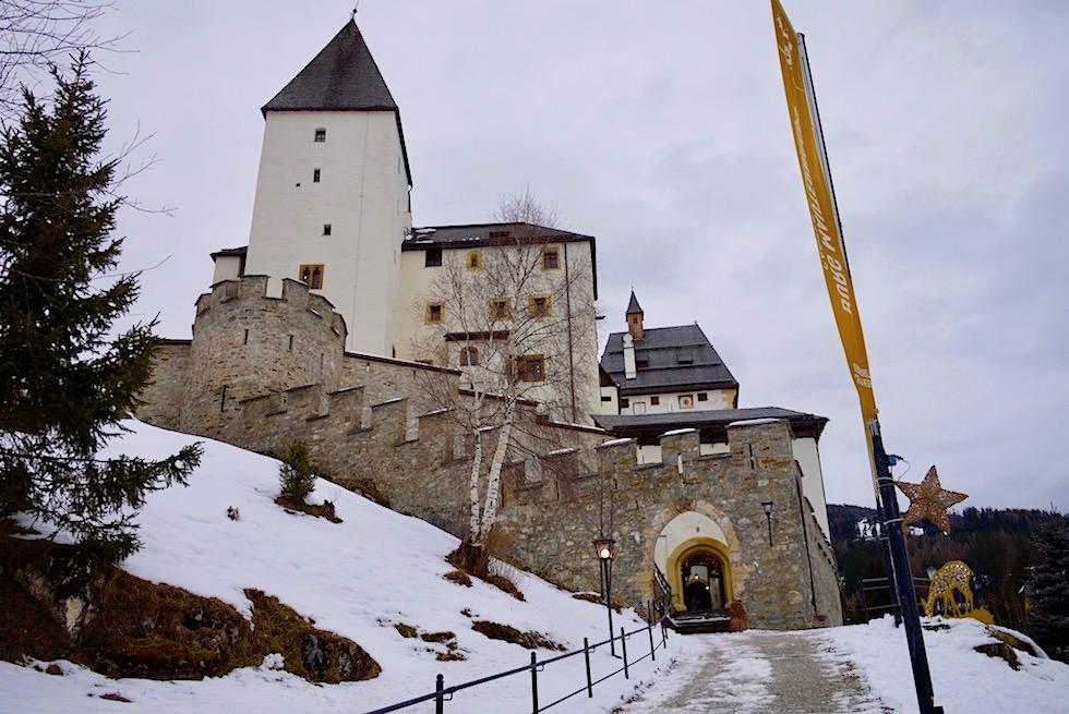 Burg Mauterndorf - Denkmal mit großer geschichtliche Vergangenheit - Salzburger Lungau - Österreich