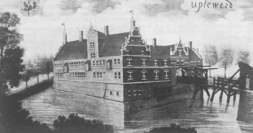 Burg Upleward im Mittelalter - Ostfriesland