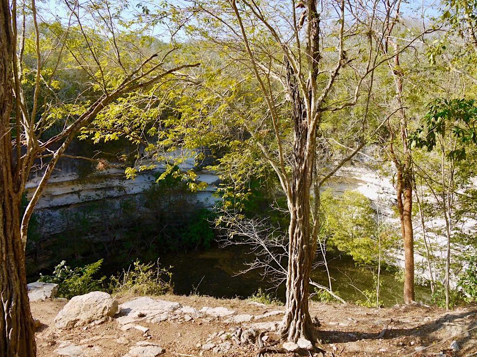 Chichen Itza - Cenote Sagrado oder Heiliger Brunnen - Yucatan - Mexiko