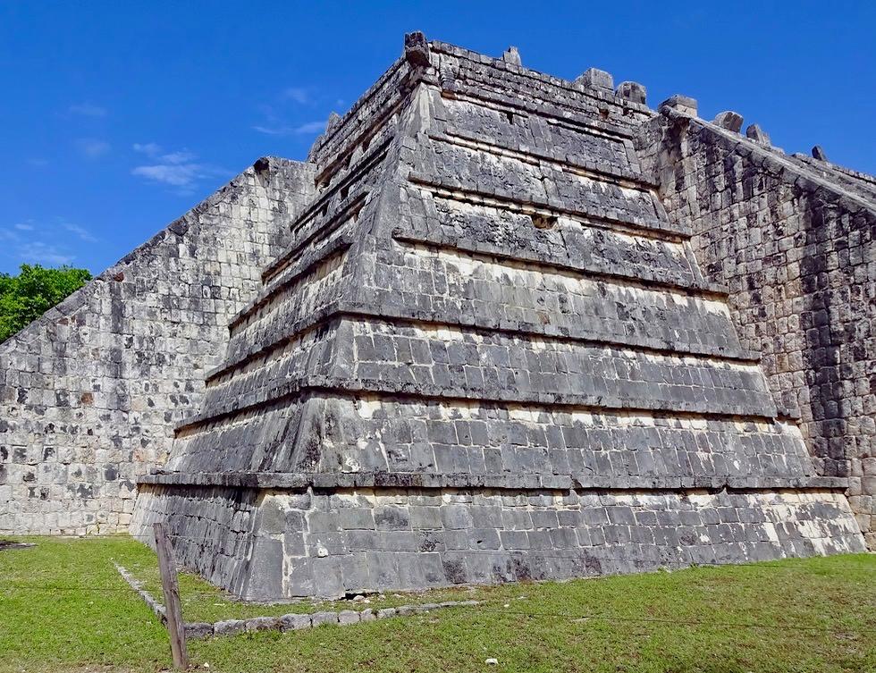 Chichen Itza - El Osario oder Hohepriestergrab - Yucatan - Mexiko