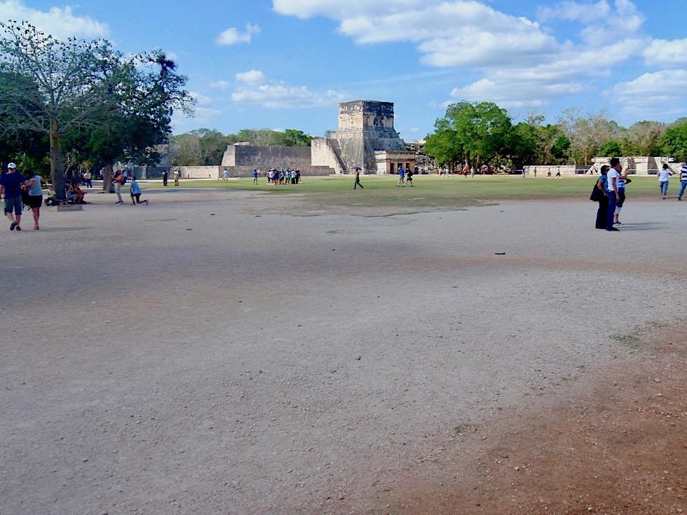 Chichen Itza - Hauptplatz im Zentrum - Yucatan - Mexiko
