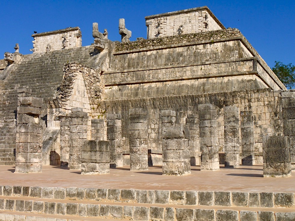 Chichen Itza - Kriegertempel & Säulenhalle - Yucatan - Mexiko