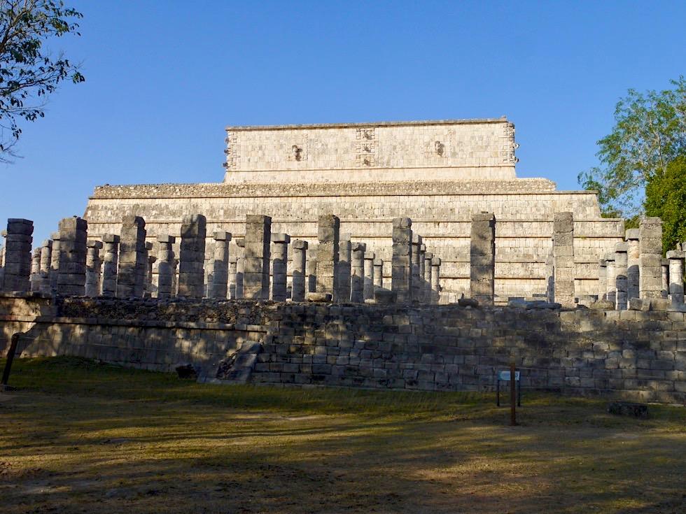 Chichen Itza - Auf der Rückseite des Kriegertempels: Gruppe der 1000 Säulen - Yucatan - Mexiko