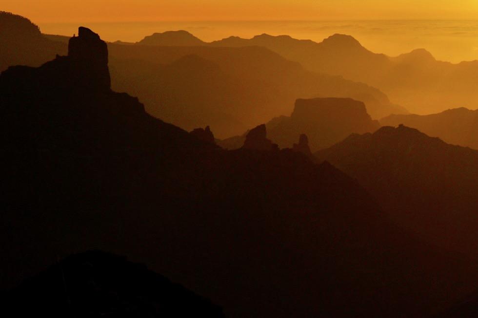 Cruz de Tejeda - Höchster Pass von Gran Canaria & bester Ort um Sonnenuntergänge zu beobachten