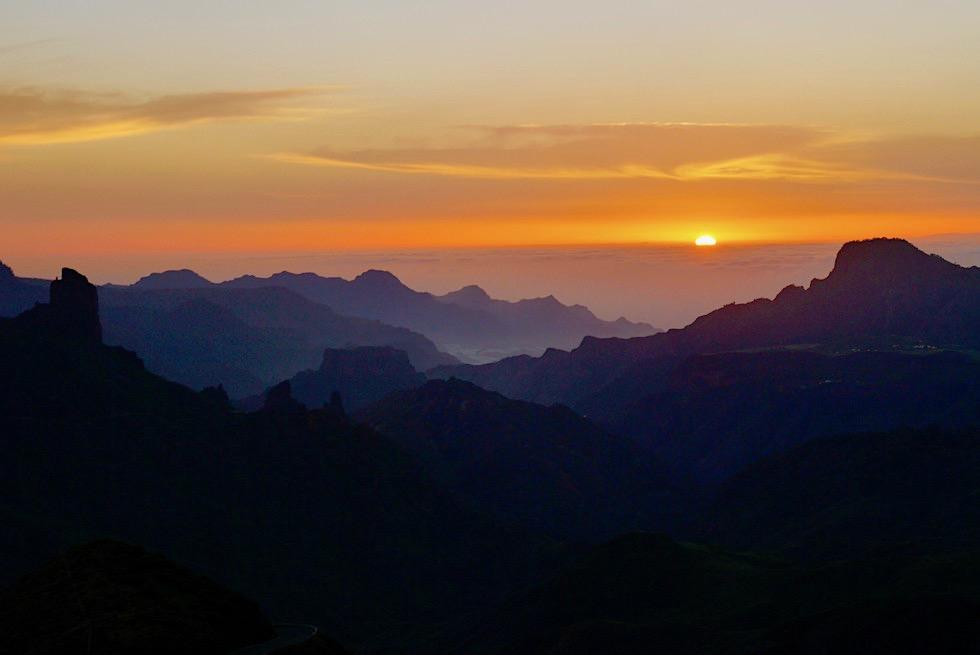 Cruz de Tejeda - Fazierende Sonnenuntergänge - Gran Canaria Highlights
