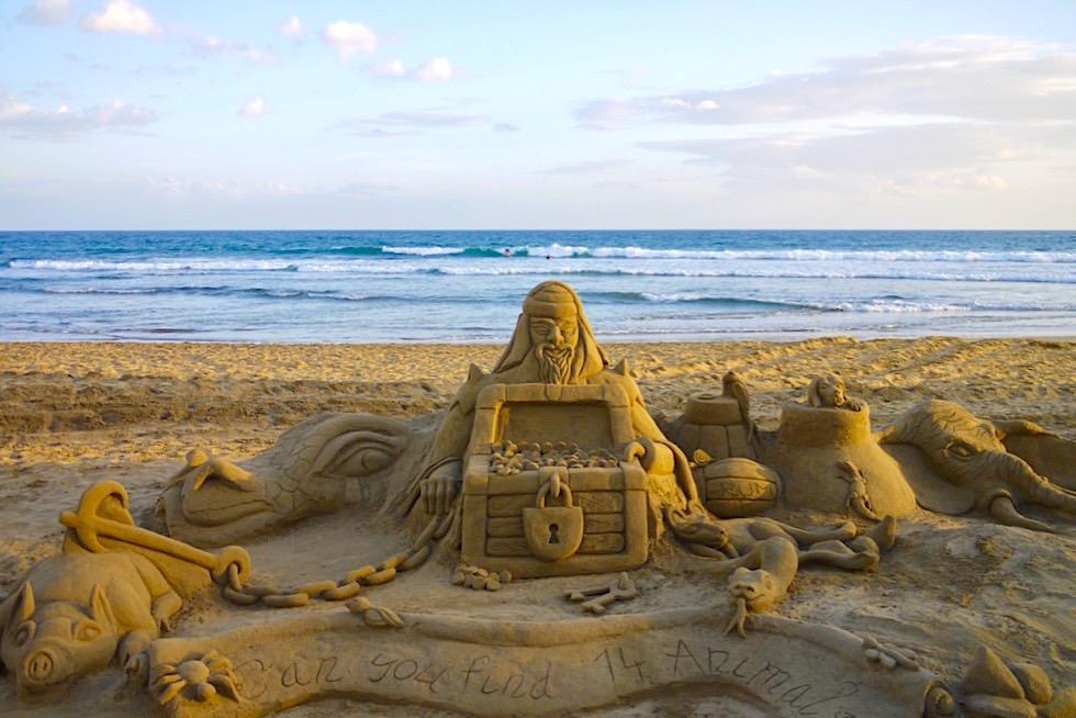 Faro de Maspalomas - Faszinierende Kunstwerke aus Sand - Gran Canaria