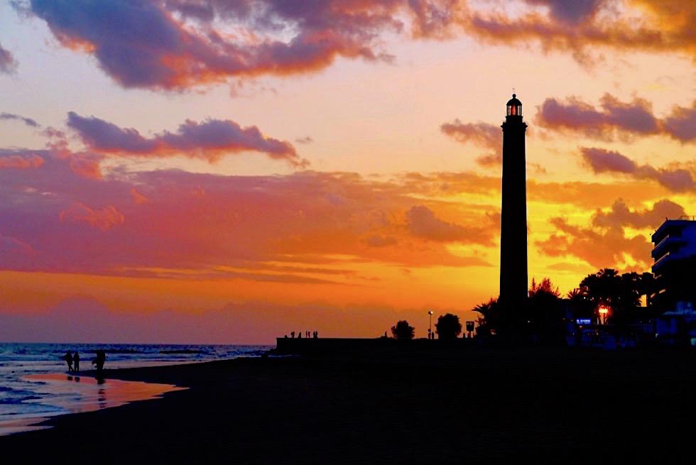 Faro de Maspalomas - Einsame Strände am Abend & Fulminanter Sonnenuntergang - Gran Canaria