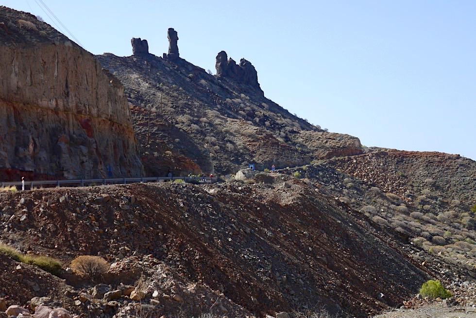 Bergketten & Felsküste im Süden von Gran Canaria