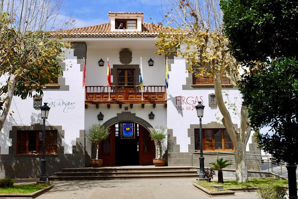 Firgas - Casa de la Cultura: das bedeutendste Gebäude in Firgas - Gran Canaria