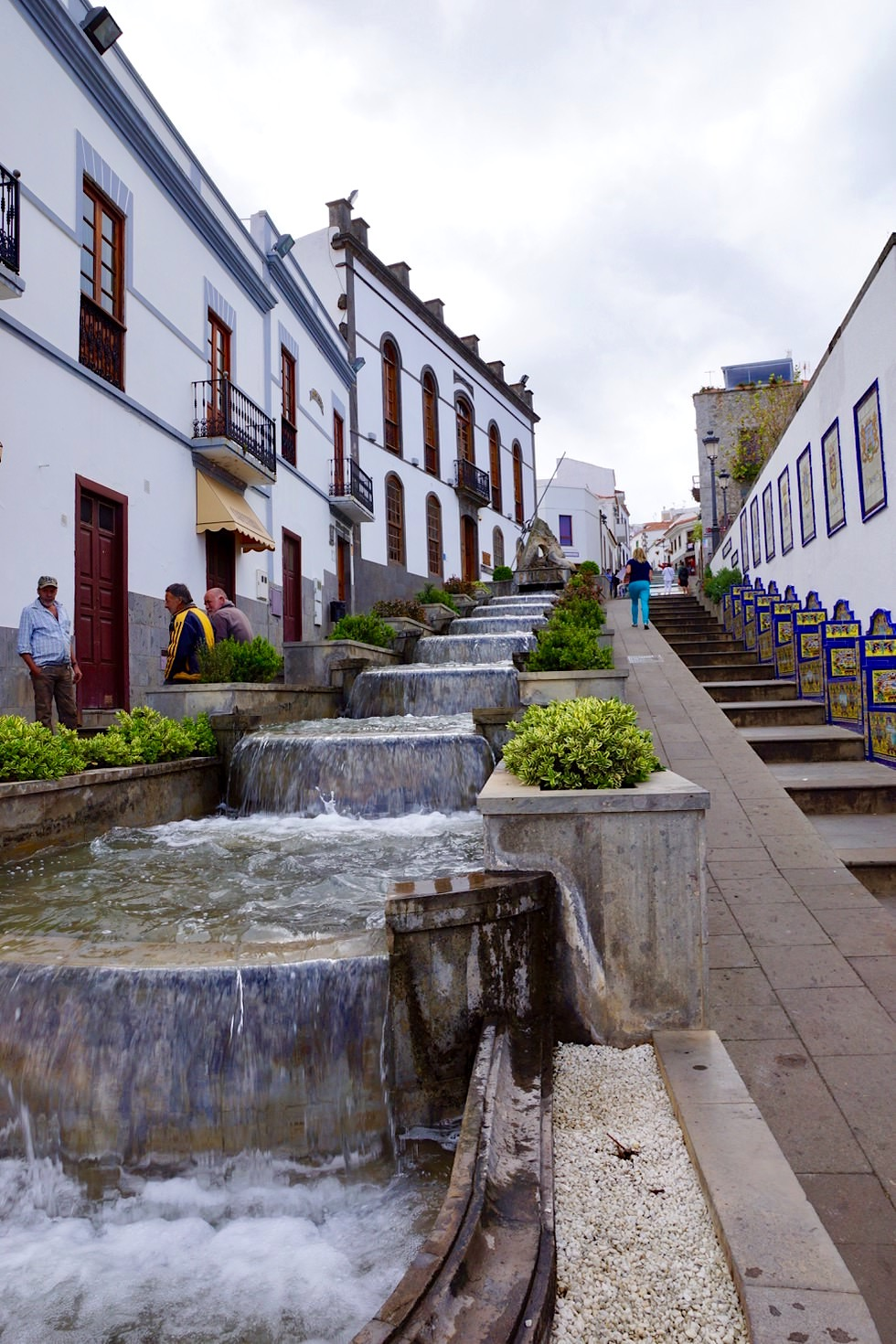 Firgas - Paseo de Gran Canaria: die berühmte Wasserfall-Straße in der Altstadt - Gran Canaria Highlights