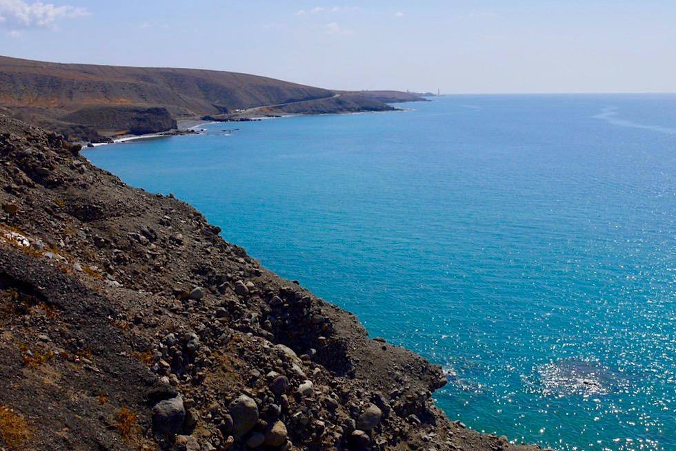 Gran Canaria - Ausblick auf die Südküste & das Meer: die Strände sind hier rar