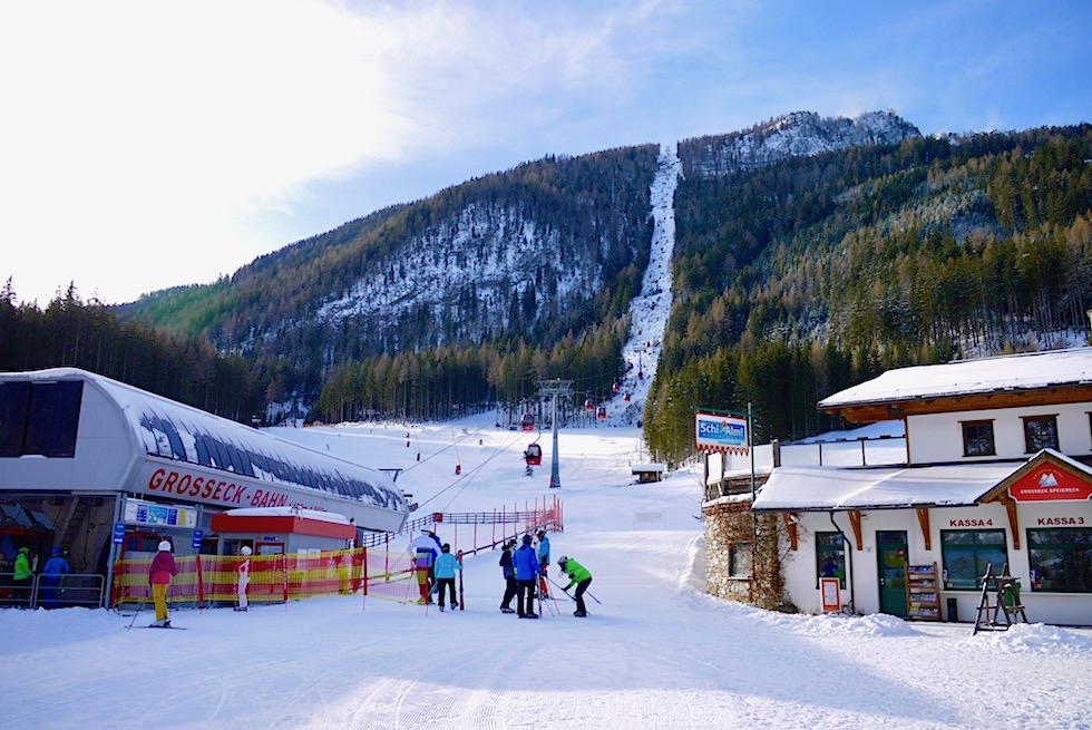 Skischaukel Grosseck-Speiereck im Salzburger Lungau - Skifahren statt anstehen - Österreich