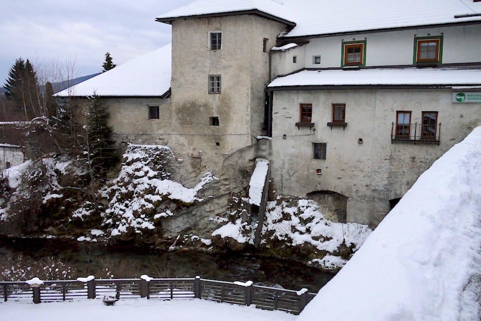 Historisches Mauterndorf mit seinen alten Gebäuden - Salzburger Lungau - Österreich