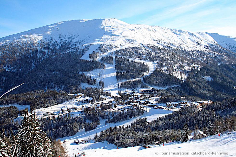 Katschberg-Aineck Skischaukel: sonniges Winterskigebiet - Kärnten & Salzburger Lungau - Österreich
