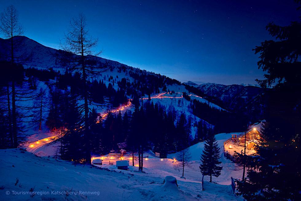 Katschberger Adventweg - ein ga nz besonderer Adventszauber in den Bergen - Salzberger Lungau - Österreich