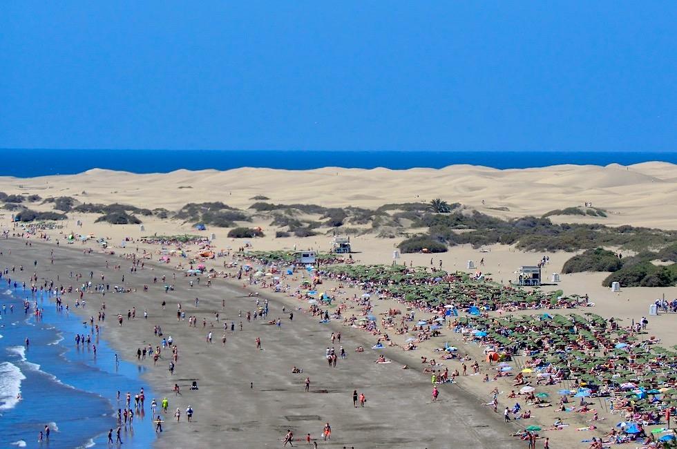 Maspalomas - Sanddünen & Strandleben - Gran Canaria