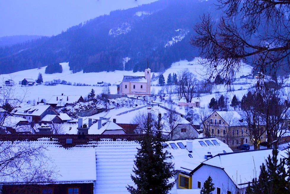 Mauterndorf - Ausblick auf die Ortschaft - Salzburger Lungau - Österreich