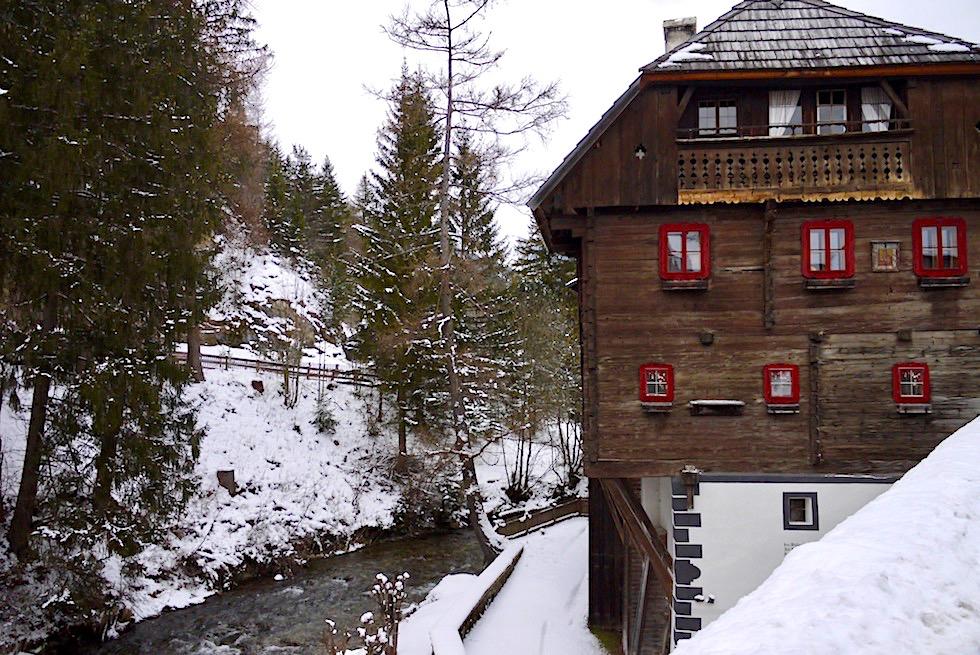 Mauterndorf - Historische Brückenkeusche - Salzburger Lungau - Österreich
