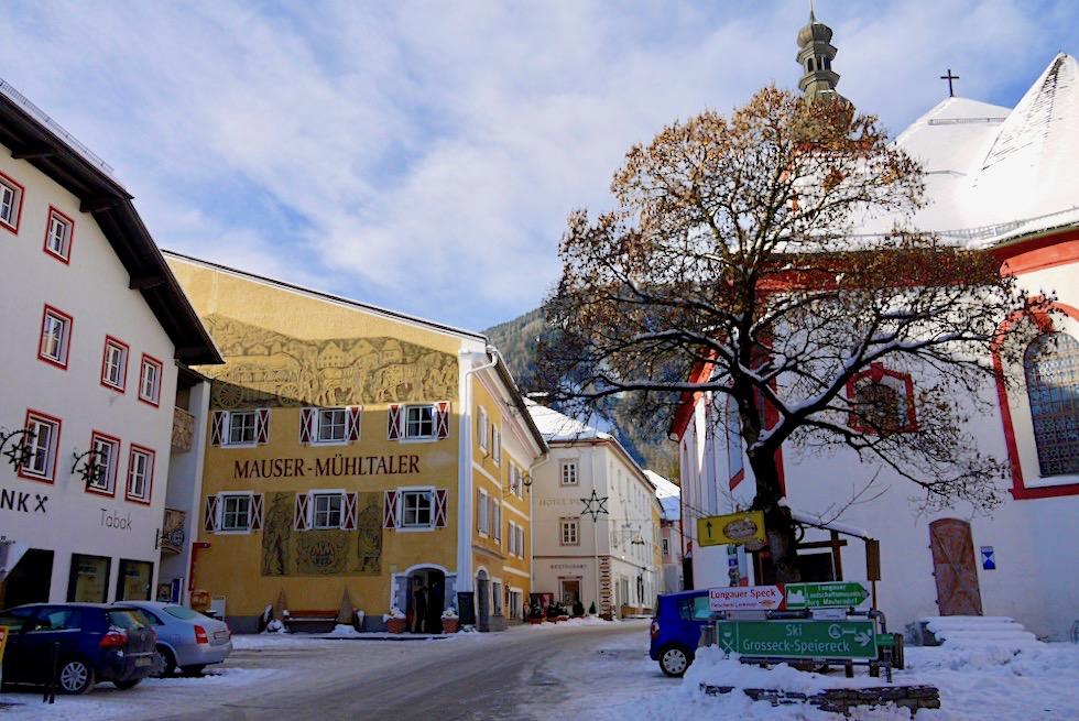 Wunderschönes Mauterndorf: das Ortszentrum - Salzburger Lungau - Österreich