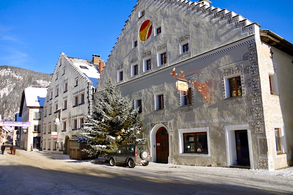 Mauterndorf - Wunderschöne historische Treppengiebelhäuser - Salzburger Lungau - Österreich