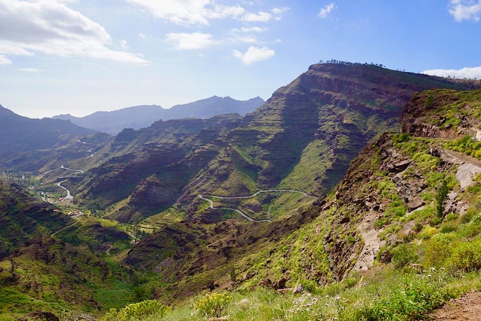 Mirador El Mulato - Grandioser Ausblick auf Barranco Mogán - Gran Canaria