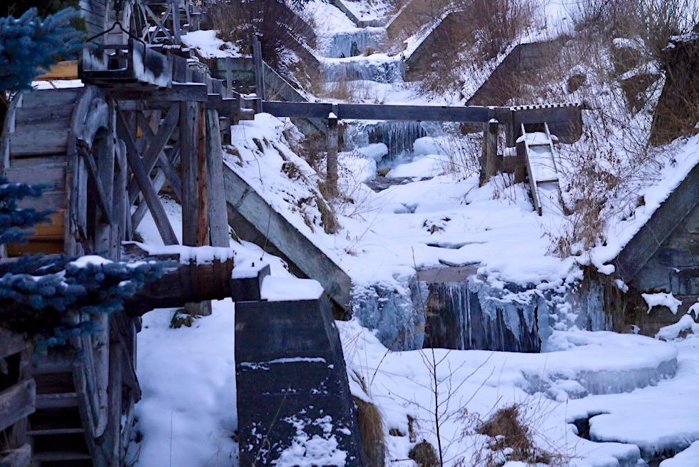 Historisch schöner Mühlenweg in Zedernhaus - Salzburger Lungau - Österreich