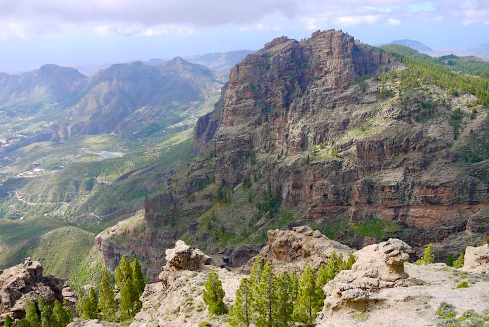 Pico de las Nieves - Ausblick über die Bergwelt - Gran Canaria Highlights