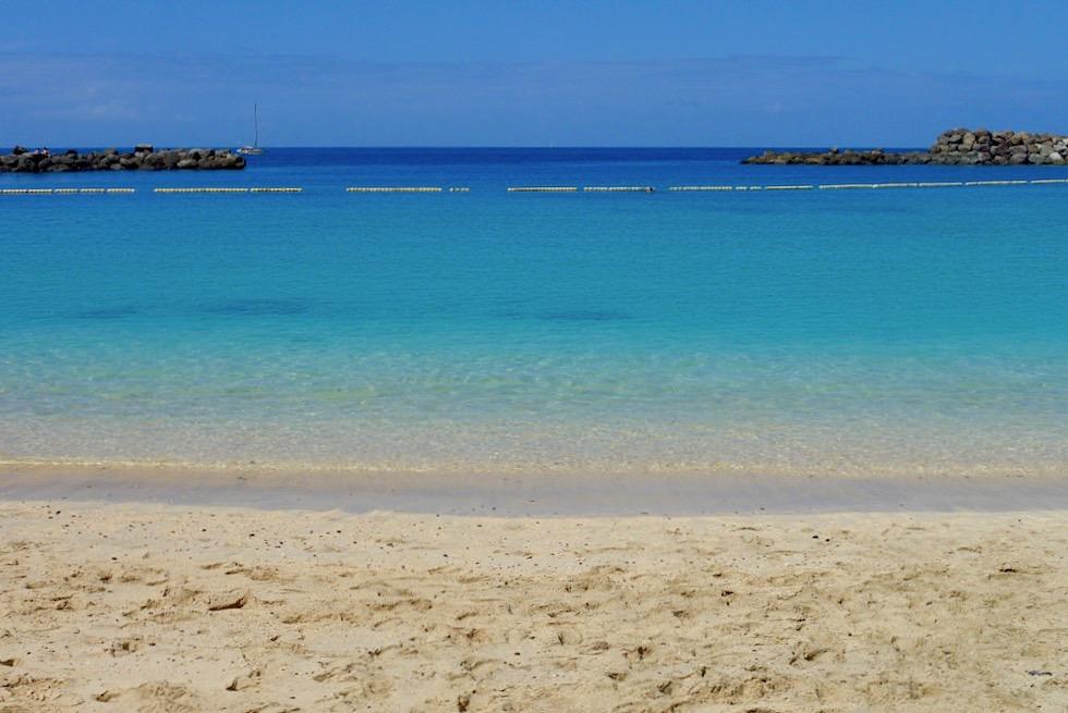Playa de Amadores: Leuchtend türkisfarbenes Meer & schönster Strand von Gran Canaria