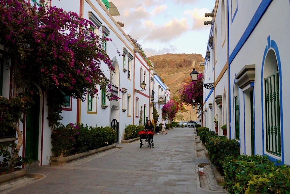 Puerto Mogan - Gassen am Hafen mit bunten Häusern - Gran Canaria