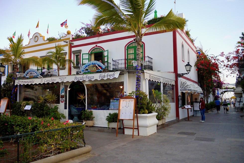 Puerto Mogan: die schönste Stadt der Südküste - Spaziergang am Hafen - Gran Canaria