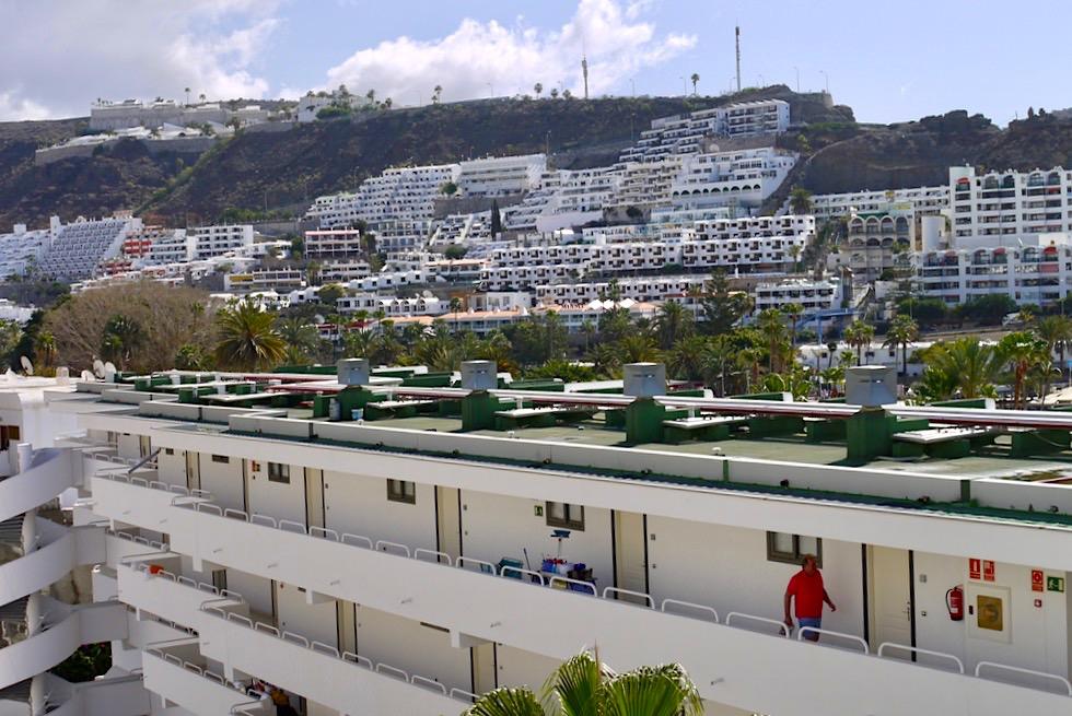 Puerto Rico - Bettenburg-Tourismus pur: ohne jeden Charme - Gran Canaria