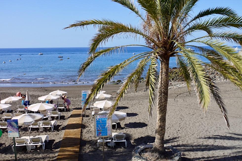 Taurito: der Strand in der Nähe von Puerto Mogan im Südwesten - Gran Canaria