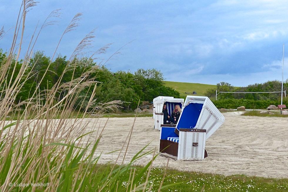 Upleward - Berühmter Trockenstrand hinter dem Deich - Krummhörn - Ostfriesland
