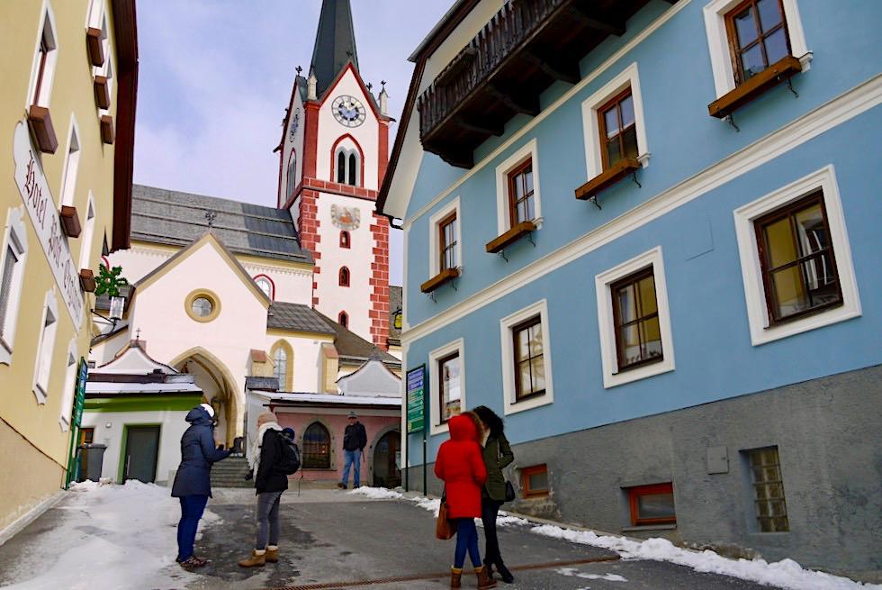 Bekannte Wallfahrtskirche Mariapfarr - Die Mutterkirche des Salzburger Lungau - Österreich