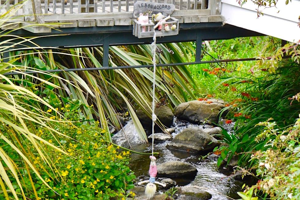 Akaroa: einzige Stadt auf der Südinsel mit Französischer Flair - Banks Peninsula - Neuseeland