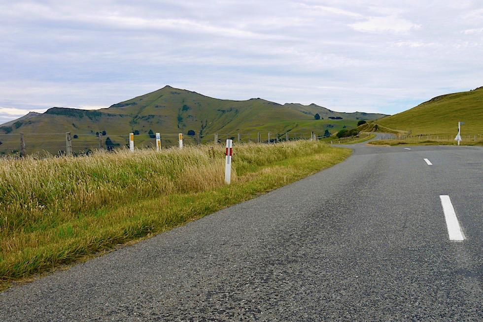 Banks Peninsula Road Trip - Faszinierend schöne Ausblicke vom Scenic Drive - Chanterbury - Südinsel Neuseeland
