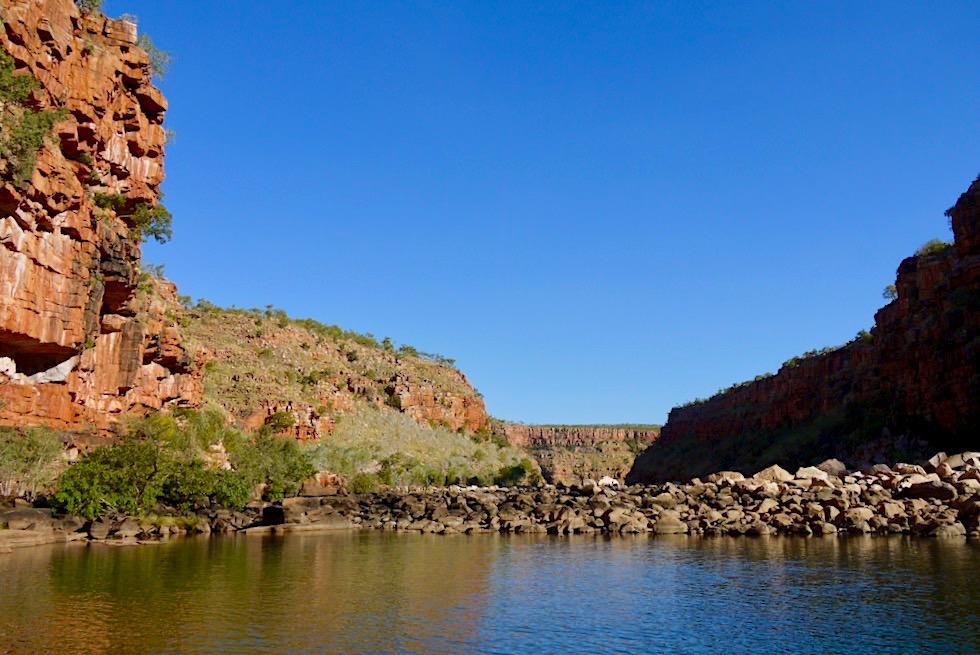 Chamberlain Gorge Cruise - El Questro Wilderness Park - Western Australia