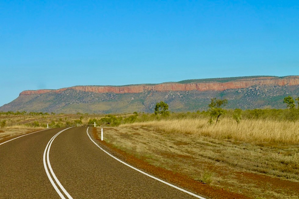Cockburn Range - von der Gibb River Road aus gesehen nahe Kununurra - Kimberley - Western Australia