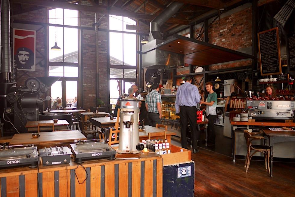 Lyttelton - Kultige Cafés & Restaurants laden ihre Besucher ein - Canterbury - Südinsel Neuseeland