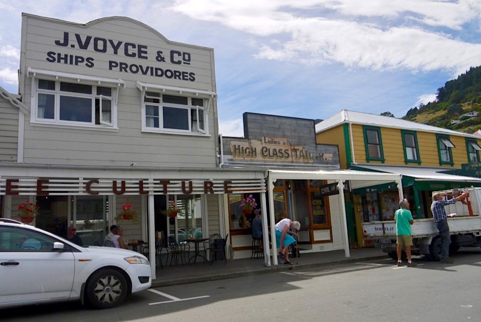 Lyttelton bei Christchurch - Malerisch, ruhiges Straßenbild - Canterbury - Südinsel