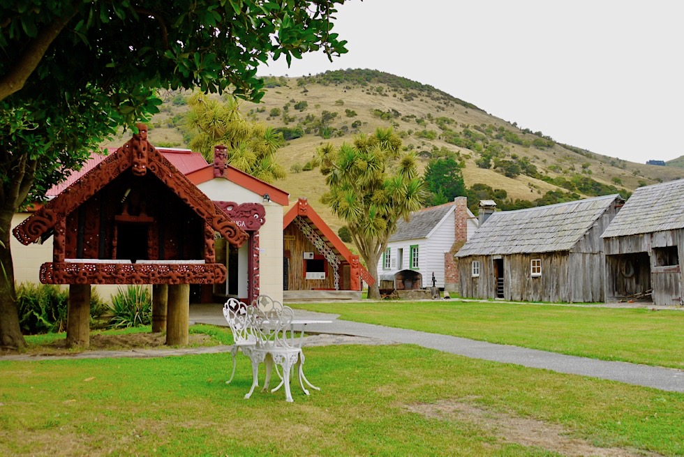 Geheimtipp: Maori & Colonial Museum in Okains Bay - Banks Peninsula Roadtrip - Südinsel Neuseeland