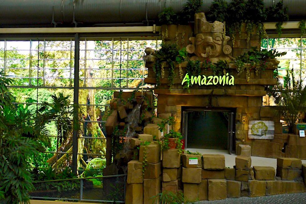 Tropical Islands - Hallenausgang zum Amazonia: dem neuen Außenbereich - Brandenburg