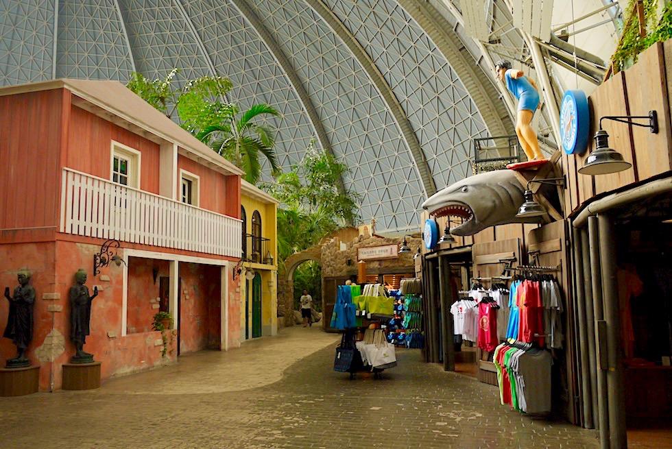 Tropical Islands - Shopping-Meile beim Eingangsbereich - Brandenburg